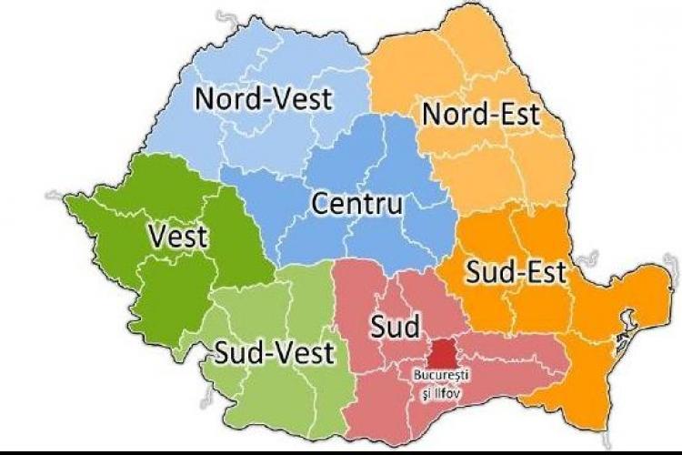 USL vrea ca regiunile sa aiba mai multe capitale. Vezi proiectul de reorganizare administrativa, propus de Opozitie!