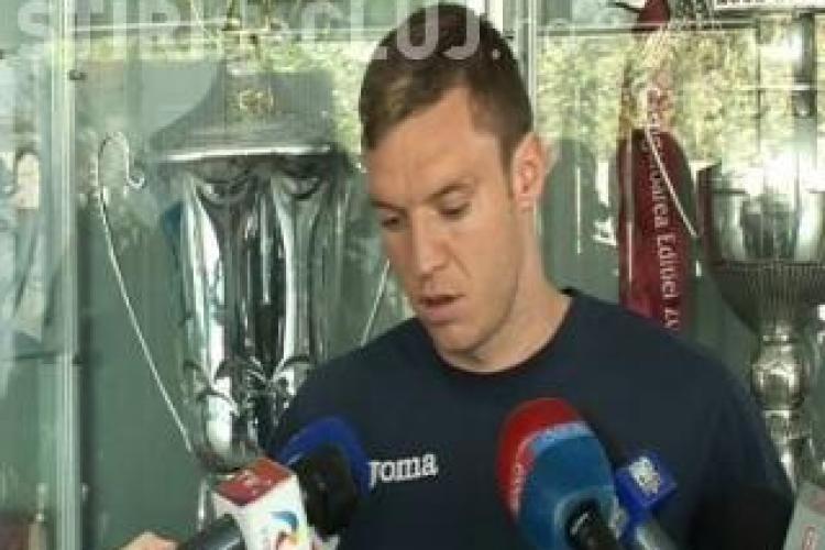 Cristi Bud, impumutat de CFR Cluj la Khazar Lankaran