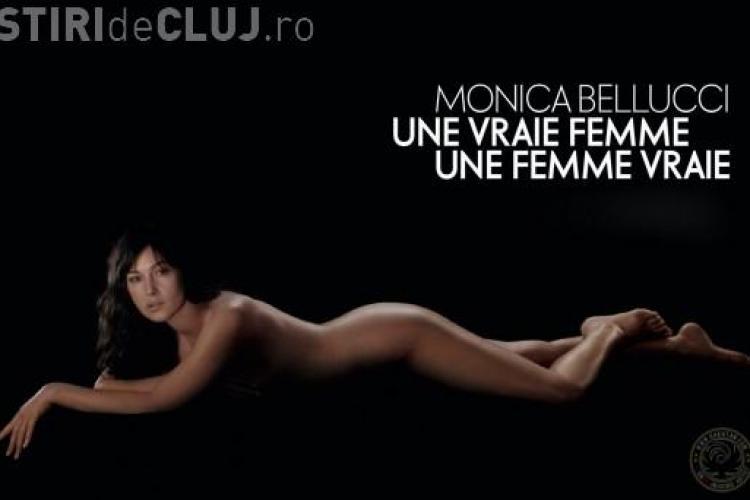 Monica Bellucci a pozat goala, la 46 de ani, in revista Elle - FOTO