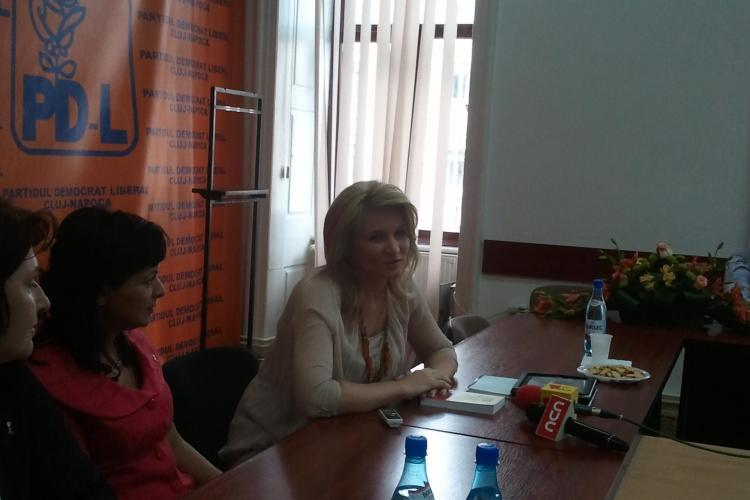 Andreea Paul Vass la Cluj: Dupa ce impartim tara pe regiuni, vom absorbi toti banii europeni