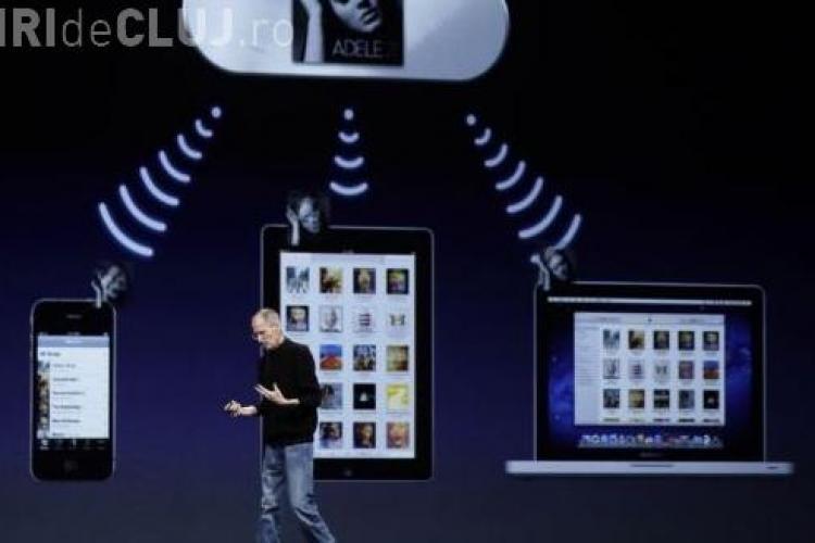 Apple a prezentat platforma iCloud prin care ai acces la documente, muzica si fotografii