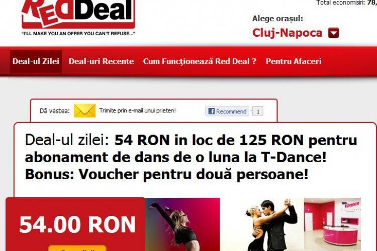 Deal-ul zilei: Doar 54 lei pentru abonament timp de o luna la cursuri de dans pentru doua persoane! (P)