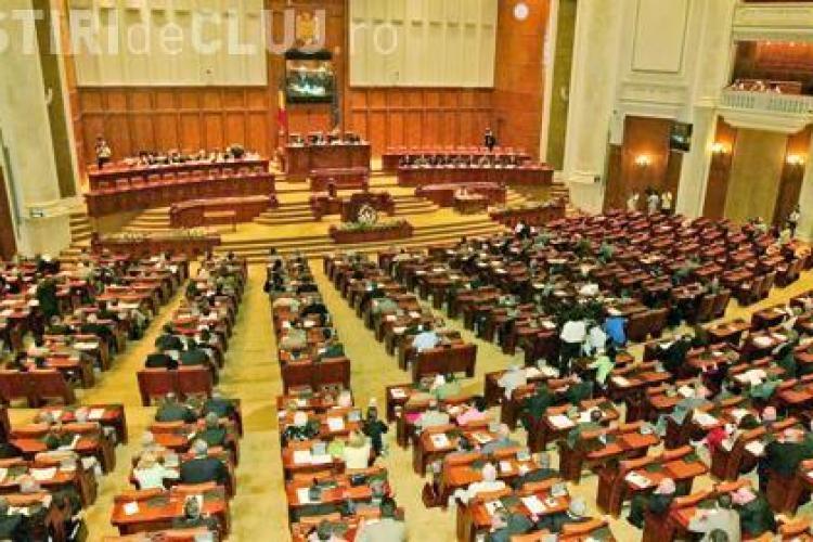 Deputati PDL filmati in timp ce votau de doua ori pentru un proiect de lege - VIDEO