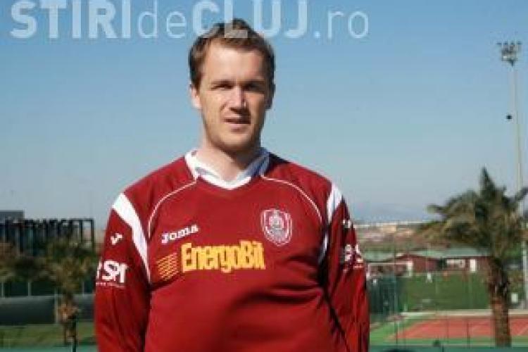 Kapetanos joaca astazi pentru CFR Cluj in amicalul cu Grodig