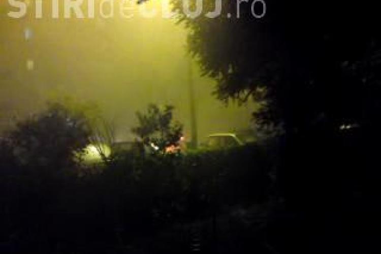 """""""Iadul"""" s-a dezlantuit in Manastur in timpul furtunii de vineri seara VEZI VIDEO STIREA CITITORULUI"""