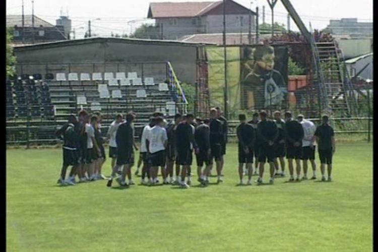 Victorie in primul amical din Austria: Universitatea Cluj - KF Trepca 1-0