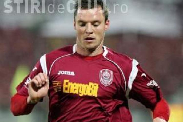 Atacantul echipei CFR Cluj, Cristi Bud, a luat Bacul cu 6,73