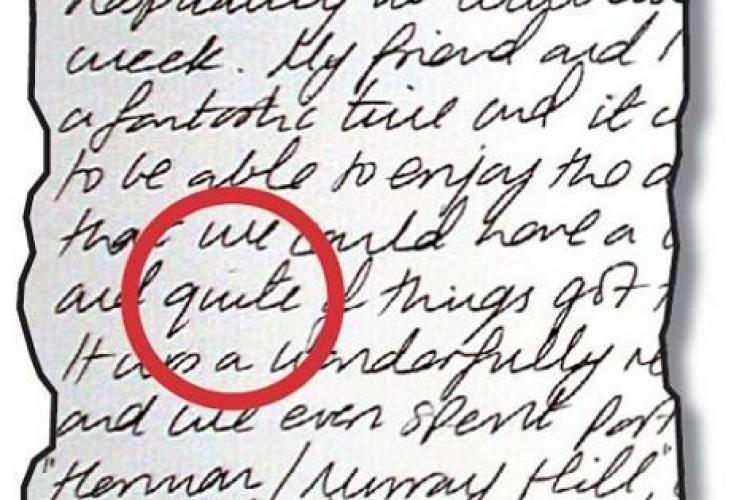 Kate Middleton scrie cu greseli. VEZI dovada