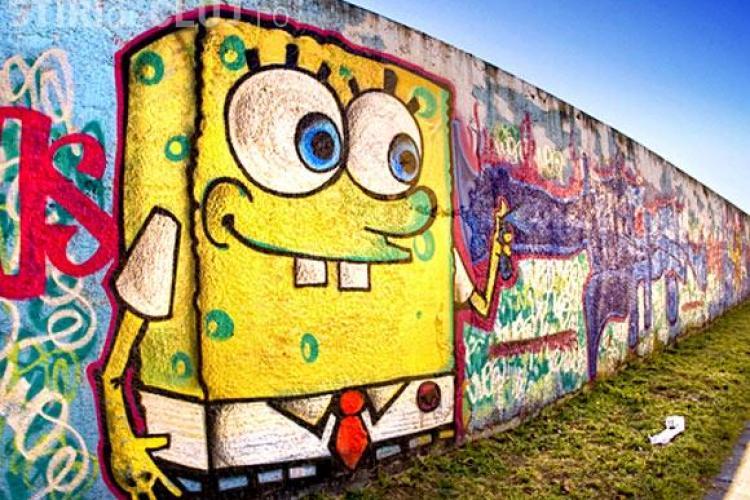 Picturi pe zidurile Clujului. Ce desene credeti ca s-ar potrivi?