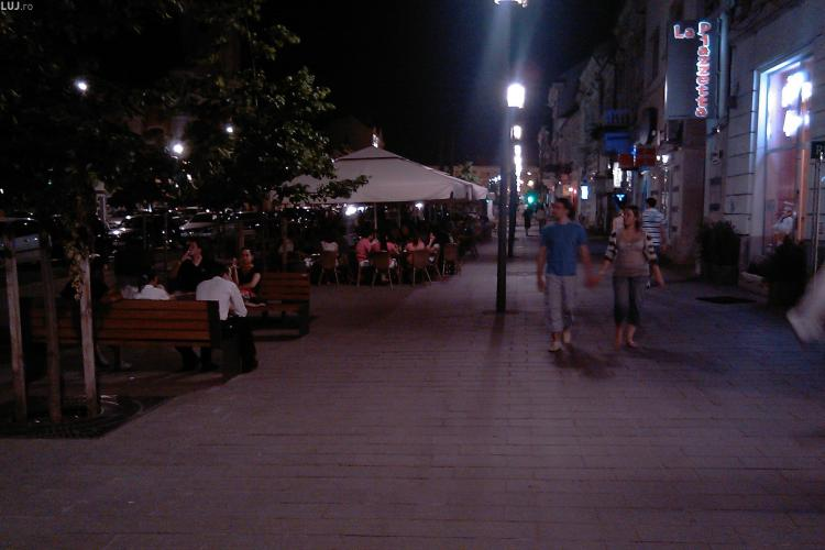 Baruri si terase din Cluj-Napoca, amendate pentru ca au depasit nivelul de zgomot admis