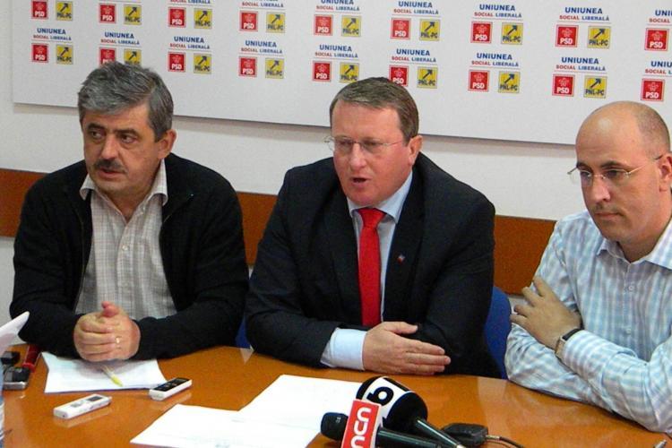 PSD si PNL Cluj au fumat pipa pacii, dupa scandalul din Consiliul Local: Nu avem intelegeri secrete cu PDL VIDEO