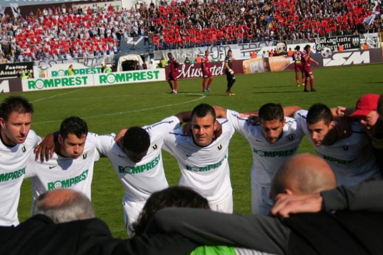 Universitatea Cluj a batut fosta campioana a Cehiei, Viktoria Plzen, cu 2-1