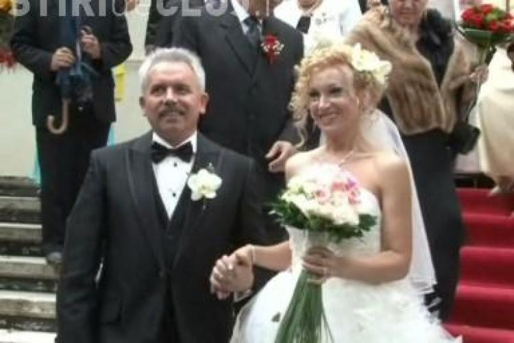 Emil Boc, prezent la nunta primarului din Gherla, Ovidiu Dragan VIDEO si FOTO