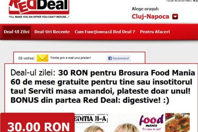 Platiti 30 de lei pentru Food Mania si primiti 60 de mese gratuite in 21 de restaurante din Cluj-Napoca! (P)