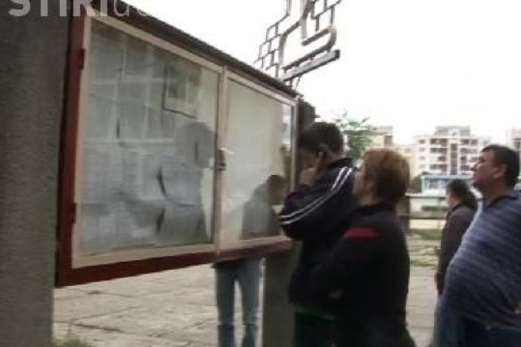 BAC Cluj 2011: VEZI reactia elevilor la vederea notelor de 5 VIDEO