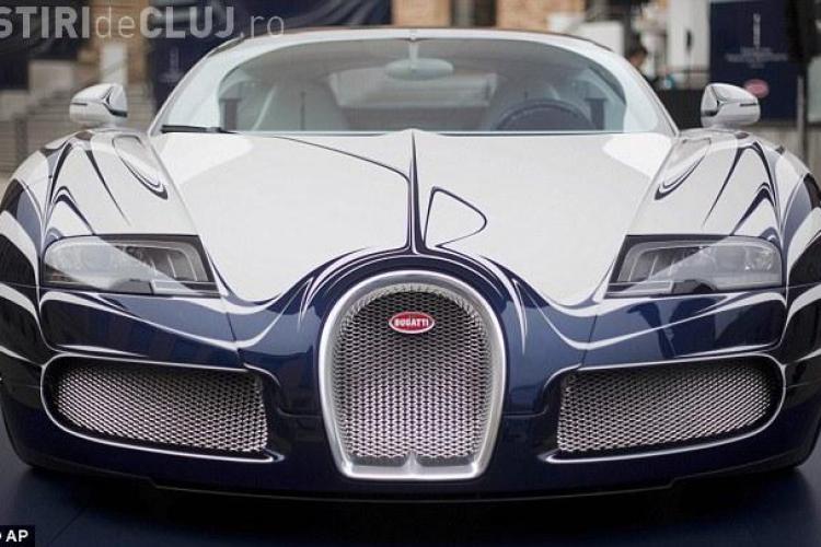 Vezi cum arata Bugatti -ul in valoare de 1,6 milioane de euro - Galerie FOTO