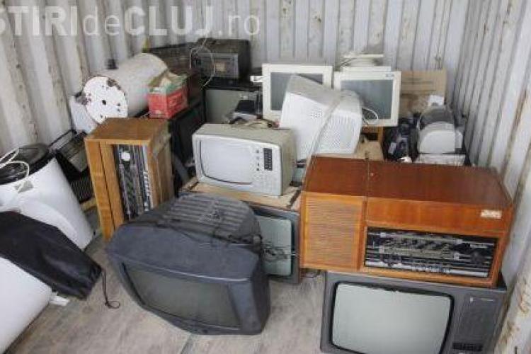 Deseurile electrice si electronice, colectate sambata la Cluj-Napoca