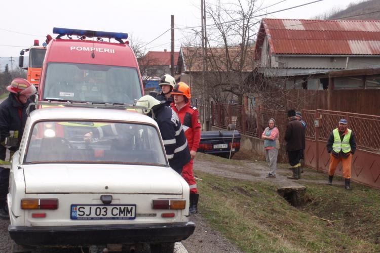 Accident cu un mort la Caianu. Alte doua persoane au fost ranite grav