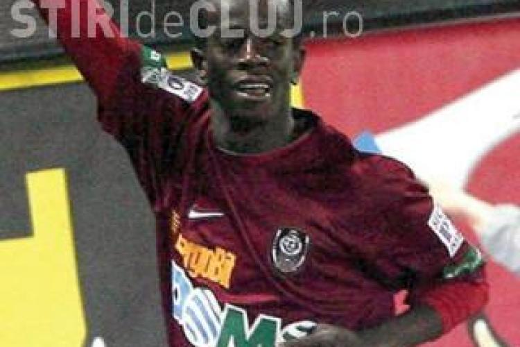 Emmanuel Kone acuza conducerea clubului CFR Cluj de fals. Vezi reactia lui Costa - VIDEO