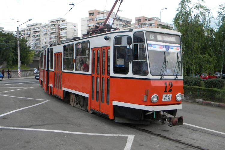 Tramvaiele, scoase de pe ruta strada Bucium - Piata Garii si inlocuite cu autobuze