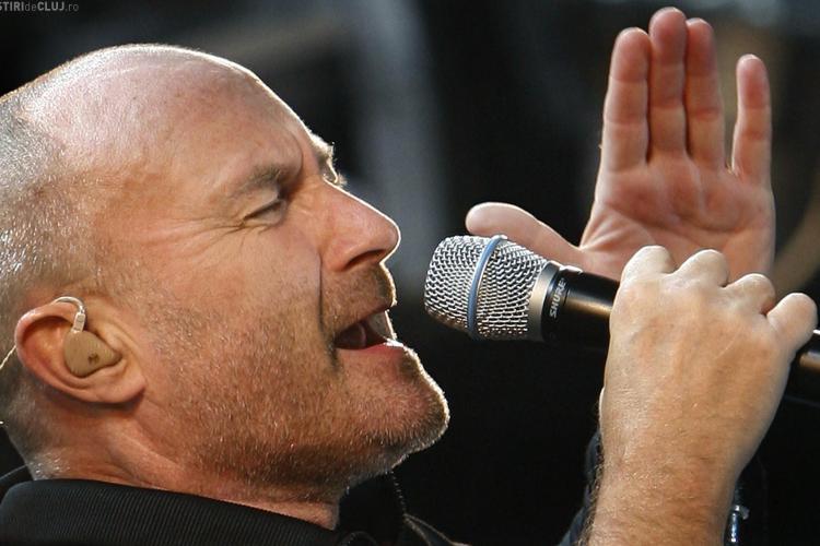 Phil Collins nu va canta la Turda! Vezi de ce si ce implicare are fiica primarului Tudor Stefanie - EXCLUSIV