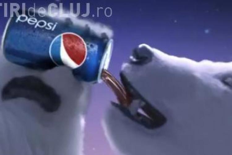 Pepsi isi bate joc de mascotele Coca Cola in doua reclame lansate pe Internet VIDEO