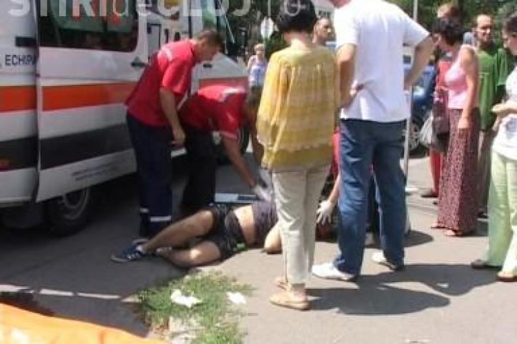 Accident in Piata 14 Iulie! Un motociclist a murit dupa ce a fost lovit de un sofer care a ignorat semnele de circulatie VIDEO