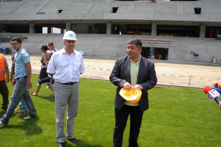 O banca din Cluj vrea sa isi puna numele pe Cluj Arena! Vezi ce spune Alin Tise VIDEO