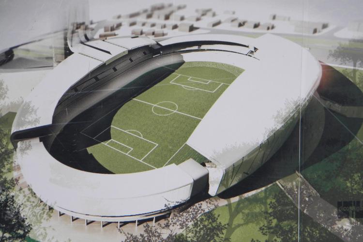 Stadionul municipal se va numi Cluj Arena - VIDEO