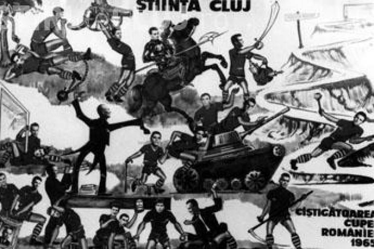 46 de ani de la cea mai mare performanta a Universitatii Cluj: castigarea Cupei Romaniei
