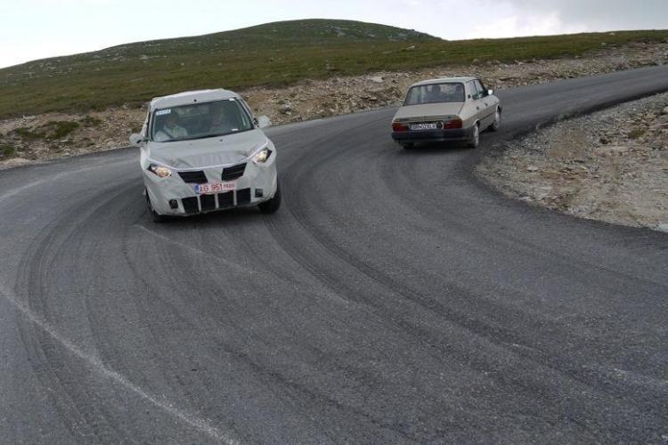 Dacia Popster pe drumurile din Romania. Imagini spion FOTO