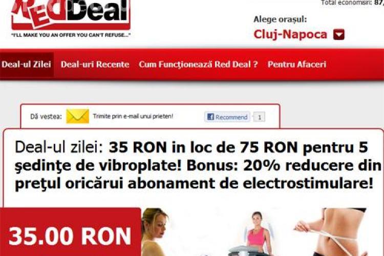 35 lei in loc de 75 lei pentru 5 sedinte de vibroplate! Bonus: 20% reducere din pretul oricarui abonament de electrostimulare! (P)