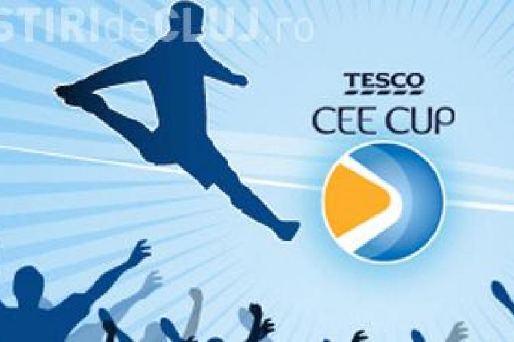 Juniorii Universitatii Cluj participa in Cehia la Cupa Tesco