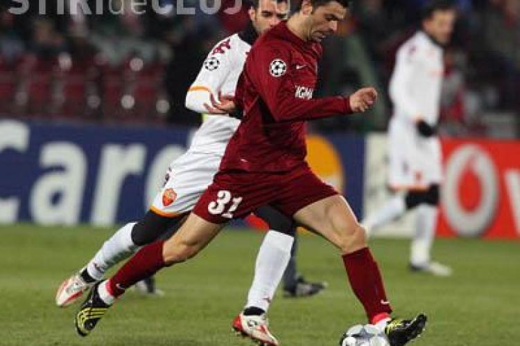 CFR Cluj-Astra Ploiesti: 2-0 Sougou si Nuno Diogo au adus victoria