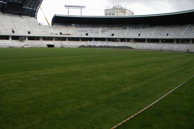 Gica Hagi si generatia '90 ar putea juca in primavara pe Cluj Arena VIDEO