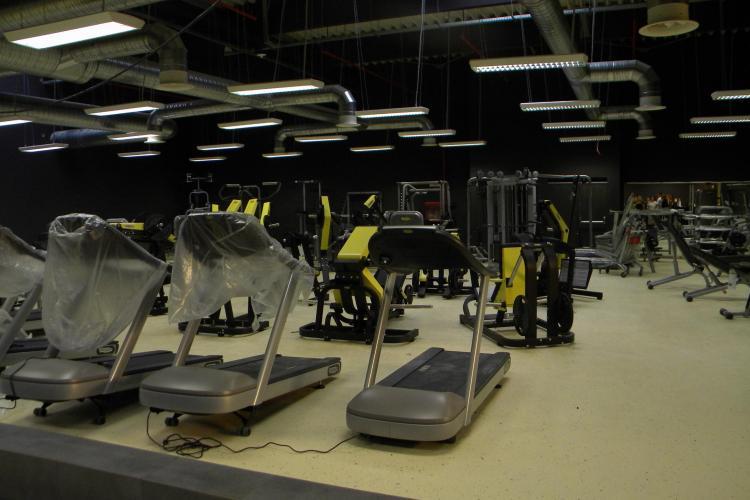 Vezi imagini in premiera cu Gimmy Polus, cea mai mare sala de fitness si aerobic din Cluj VIDEO si FOTO