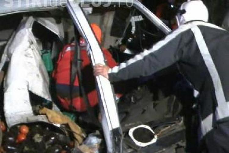 Accident la Bunesti! Un barbat a murit si fiul lui este grav ranit VIDEO - IMAGINI SOCANTE