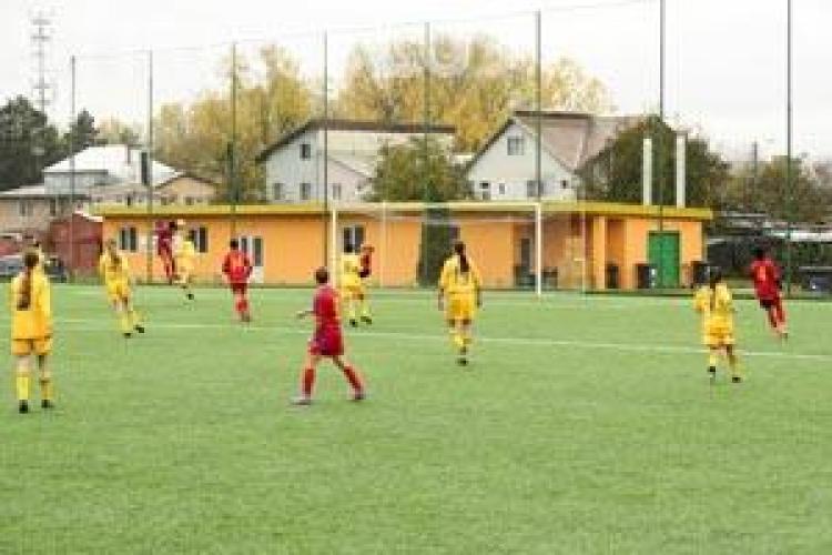 Fotbalistele de la Olimpia Cluj au invins, cu 7-1, intr-un amical formatia MTK Budapesta