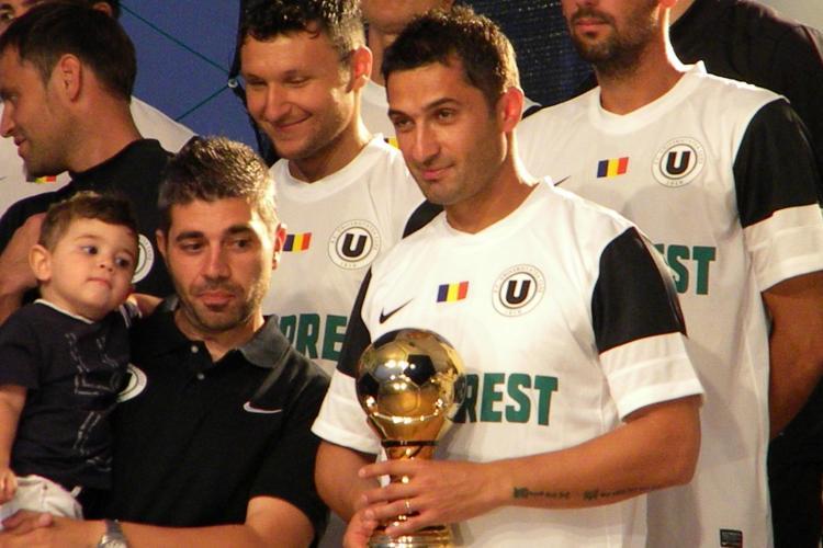 Claudiu Niculescu, la prezentarea lotului U Cluj: Sper sa jucam in cupele europene VIDEO