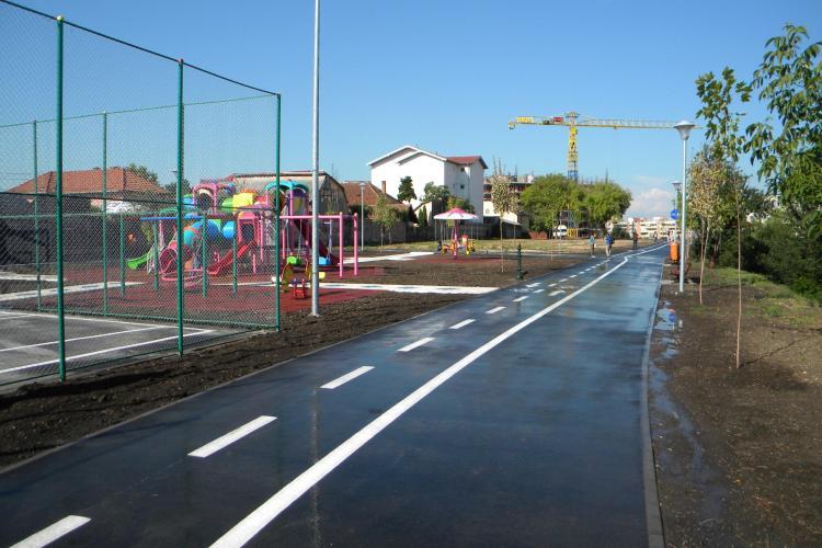 Parc de joaca in locul locuintelor de tigani de pe strada Coastei VIDEO si FOTO
