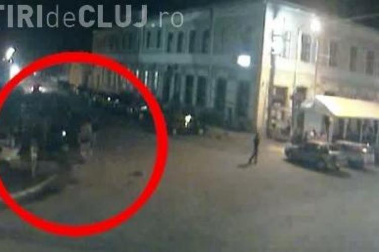 Imagini cu scandalul de la Deta! VIDEO CAMERA DE SUPRAVEGHERE