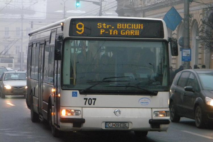 Mijloacele de transport in comun din Cluj au program redus in 15 august, de Sfanta Maria