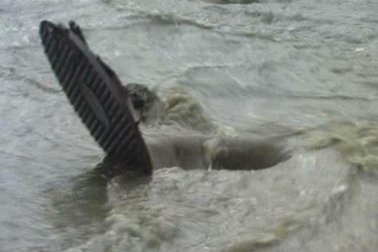Dejul, inundat la orice ploaie VIDEO