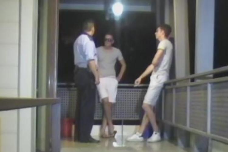 Copiii lui Gore au fost retinuti vineri seara pentru transport de droguri- VIDEO