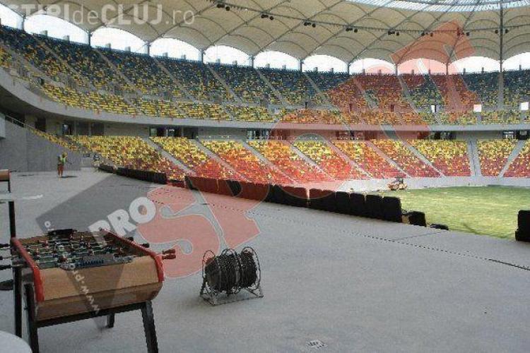 National Arena este aproape gata. A costat de aproape 7 ori mai mult ca cel din Cluj VEZI FOTO