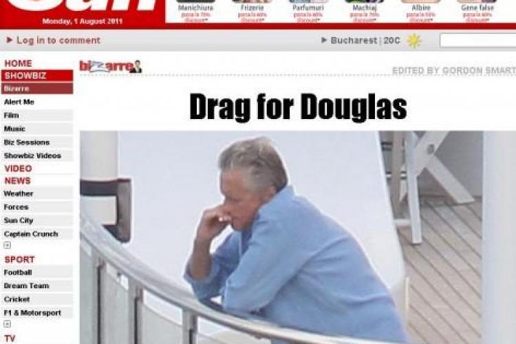Michael Douglas socheaza! Fumeaza pe ascuns la cateva luni dupa ce s-a vindecat de cancer in gat