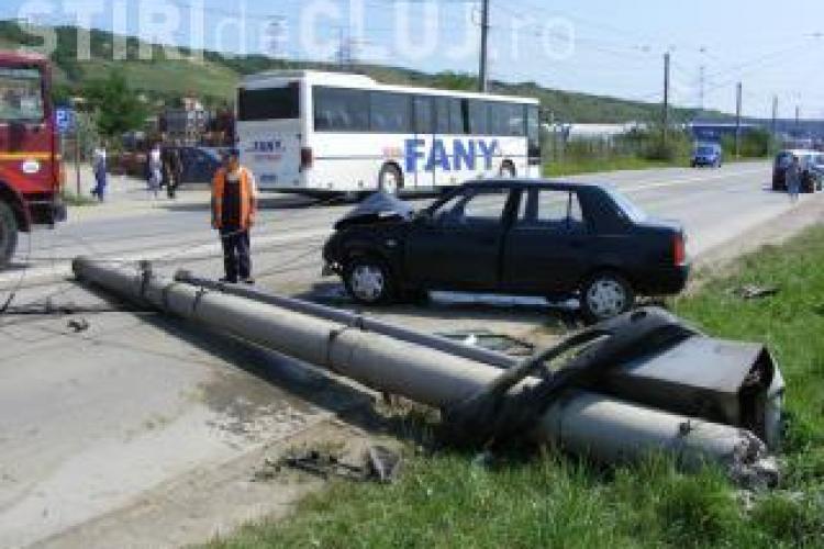 Accidentul de pe B-dul Muncii, din Cluj, a fost surprins in direct de camerele de supraveghere! VIDEO IMAGINI SOCANTE