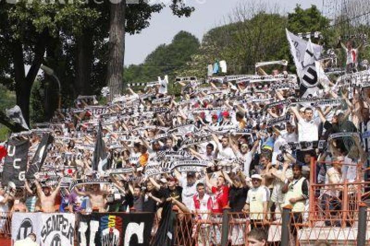 Fanii Universitatii Cluj, interzisi pe stadion. Vezi de ce!