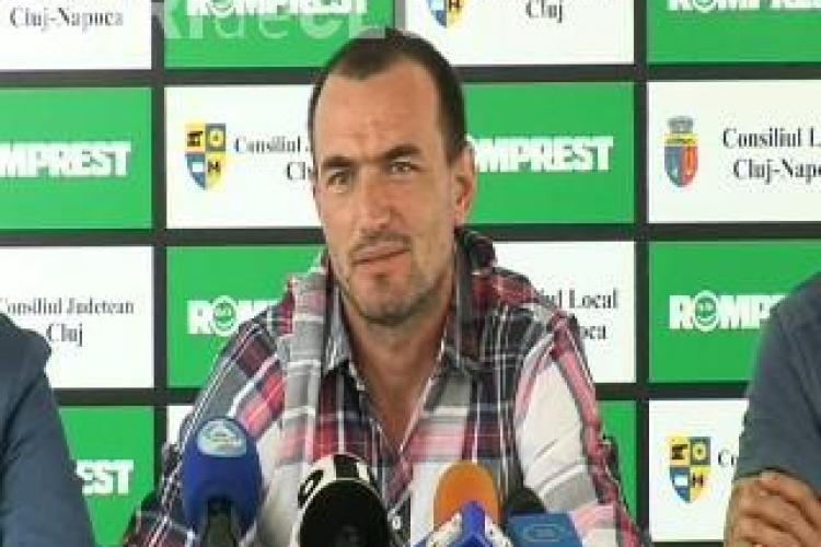 Antrenorul Universitatii Cluj, Ionut Badea, despre infrangerea suferita cu Lazio: Au fost mai motivati decat noi