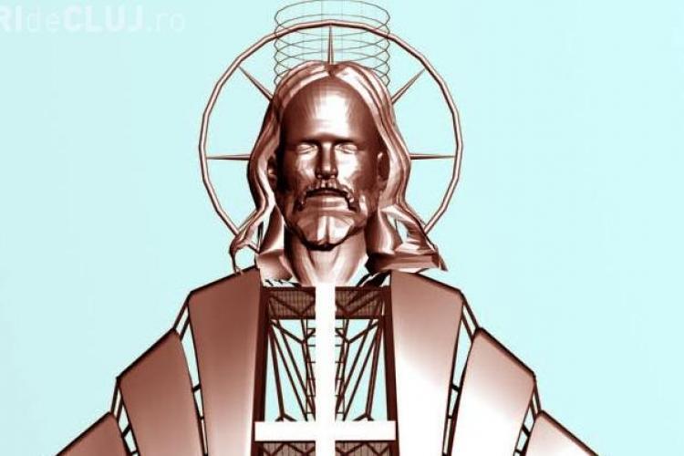 O statuie a lui Iisus de 22 de metri va fi montata pe muntele Gordon, in judetul Harghita
